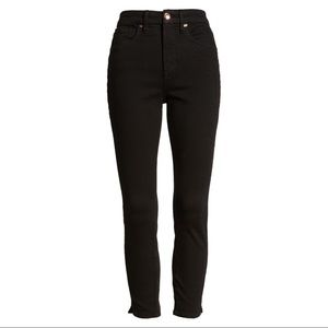 Good American Good Waist Cropped Jeans